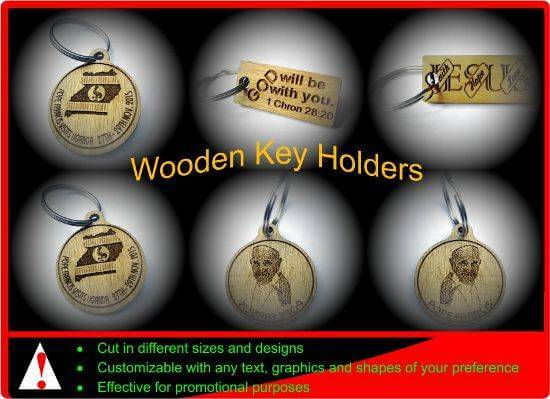 Wooden Key Holders for Promotional Purposes