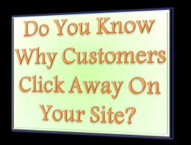 customers click away