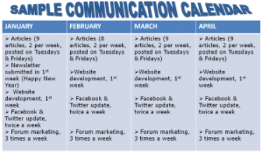 Communication Calendar: Create A Communication Calendar To Boost Your Business!