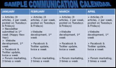 Communication Calendar: Create A Communication Calendar To Boost Your Business!