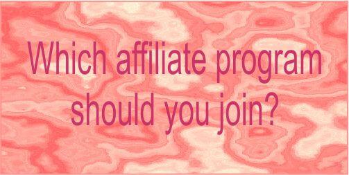 affiliate marketing programs