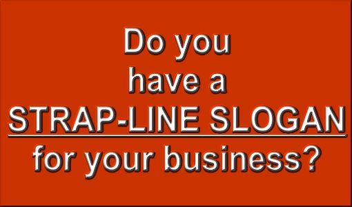 strap-line slogan