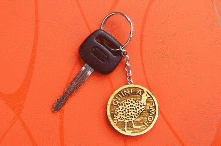 Guinea Fowl Key Chain – A Unique Item For Holding Your Keys