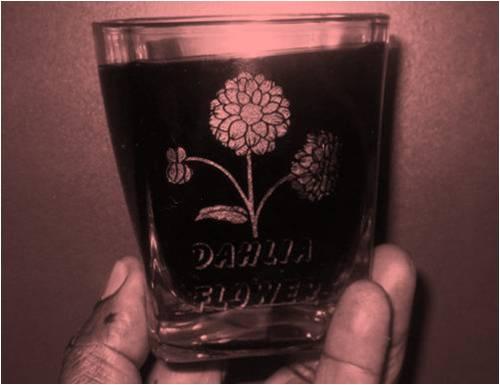 Drinking Glass Engraving