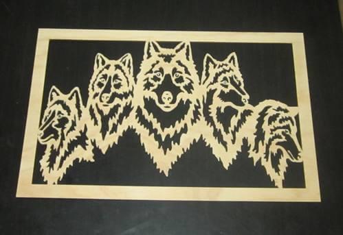 Dog Wooden Wall Decor