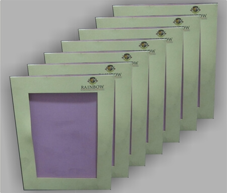 Card Stock Picture Frame