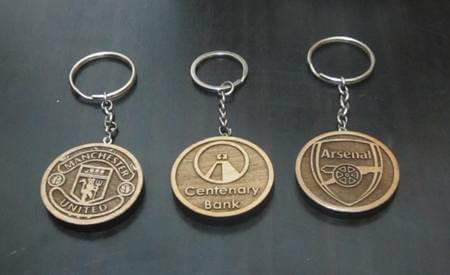 Engraved Logo Key Chains