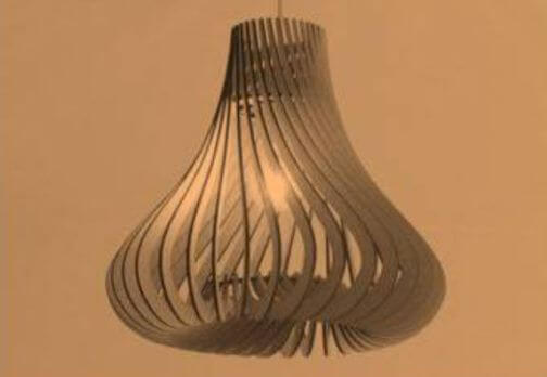 Gourd Shaped Lampshade Gives a New Life in your Home – No Doubt!