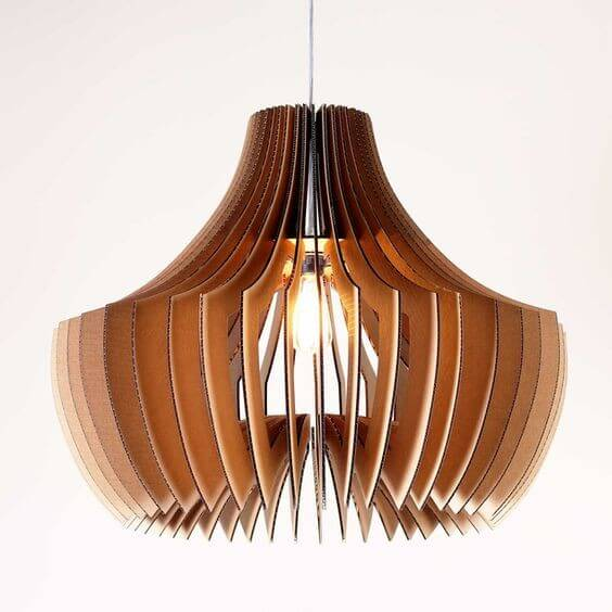 Mushroom Shaped Lampshade, an Elegant Lampshade Inspired by Nature!