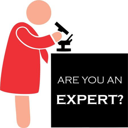 Expert Material – Do you present yourself as an Expert in what you do?