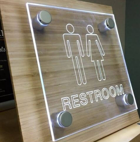 Acrylic Office Signs With Standoffs Created to Leave Lasting Impressions