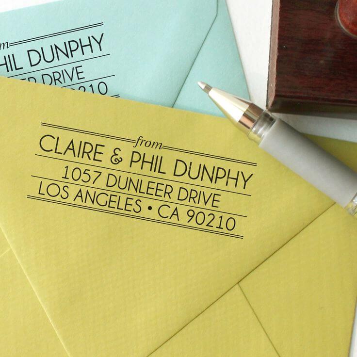 Stamped Return Envelope