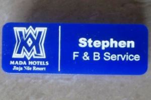Name Tag Maker in Uganda, Get your Custom Tags at Affordable Prices!