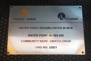 Ordinary Aluminium Borehole Label