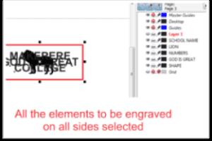 Benefits of Preparing Engraving Jobs Using Layers