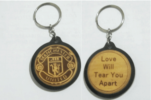 Engraved Soccer Teams Keychains