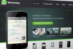 whatsapp messaging platform