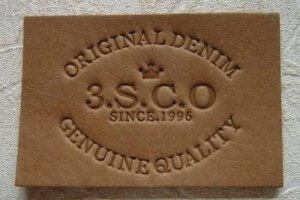 laser engraved leather debossing stamps