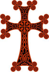 decorated cross wall hanging