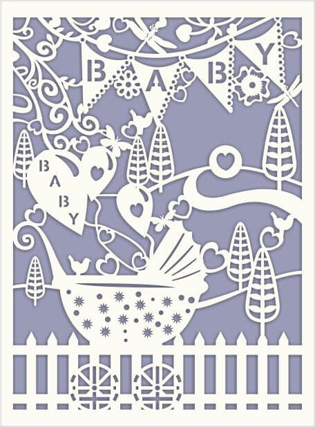 newborn baby card