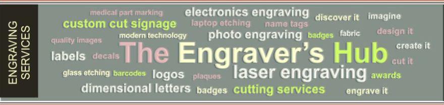 laser engraving hub