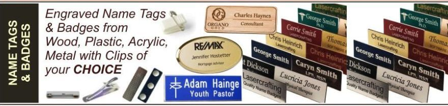 name tag badges