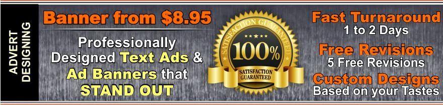 online advert designing services