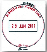 round date stamp